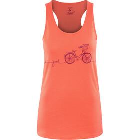 Triple2 Deel Bike T-Skjorte Dame Tank-Top Women rød